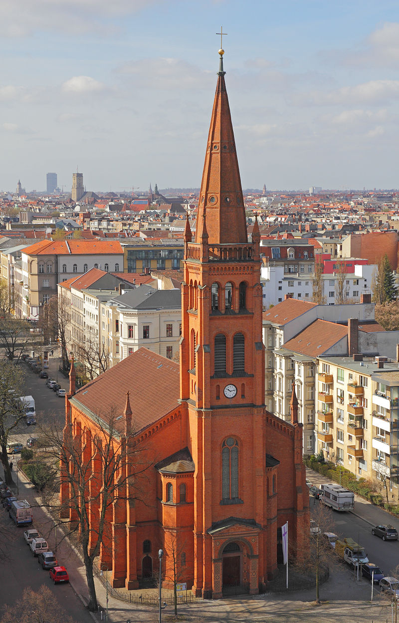 Bild Zwölf Apostel Kirche Berlin