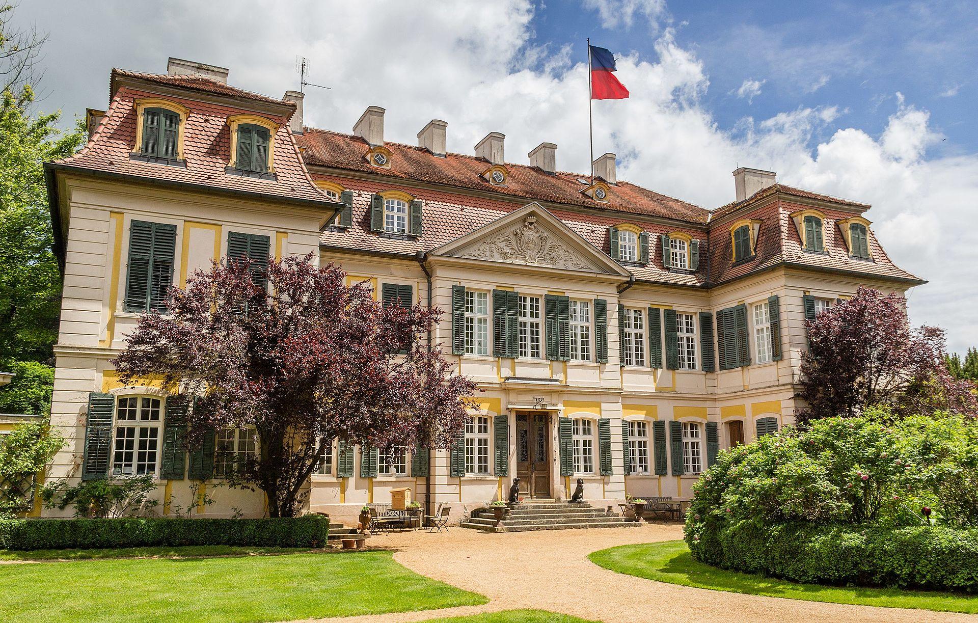 Bild Schloss Dennenlohe Unterschwaningen
