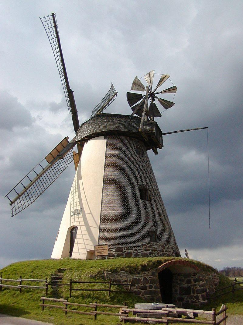Bild Windmühle Südhemmern