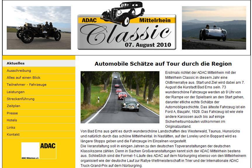 Bild ADAC Mittelrhein Classic Koblenz