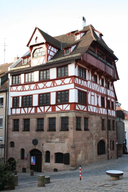 Bild Albrecht Dürerhaus Nürnberg