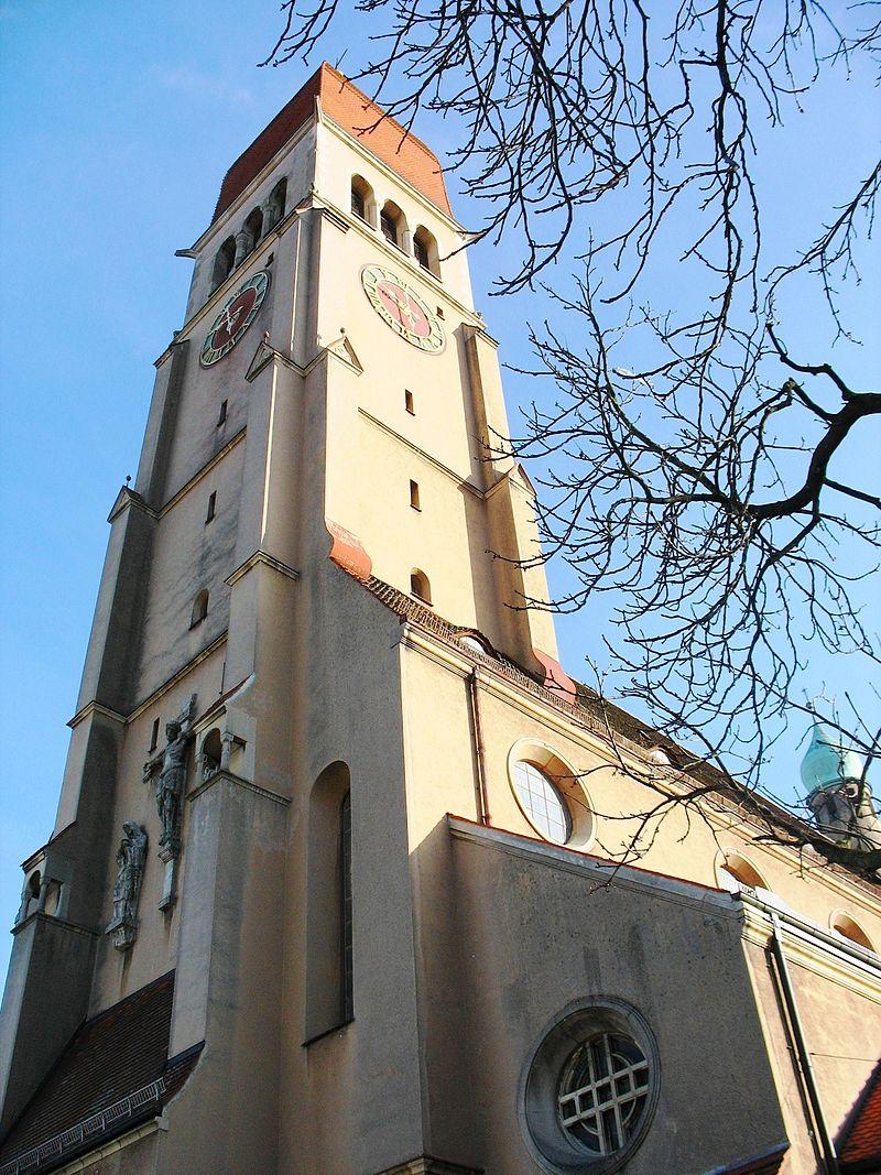 Bild Herz Jesu Kirche Augsburg