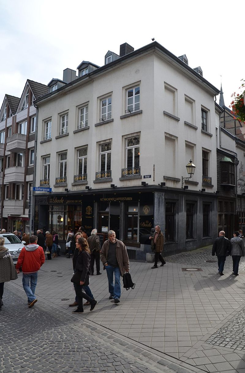 Bild Alt Aachener Café Stuben Van den Daele
