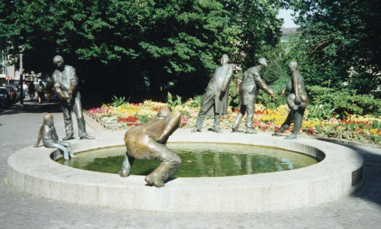 Bild Geldbrunnen Aachen