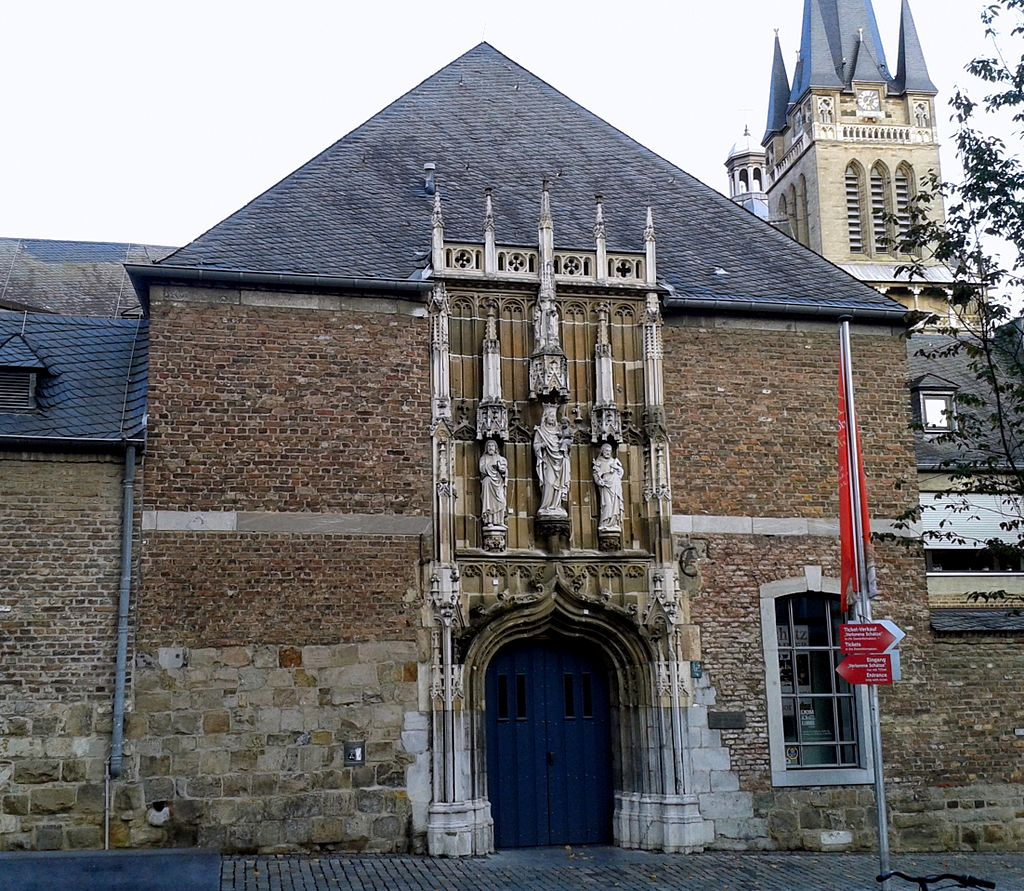 Bild Domschatzkammer Aachen