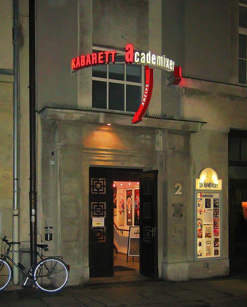 Bild Kabarett academixer Leipzig