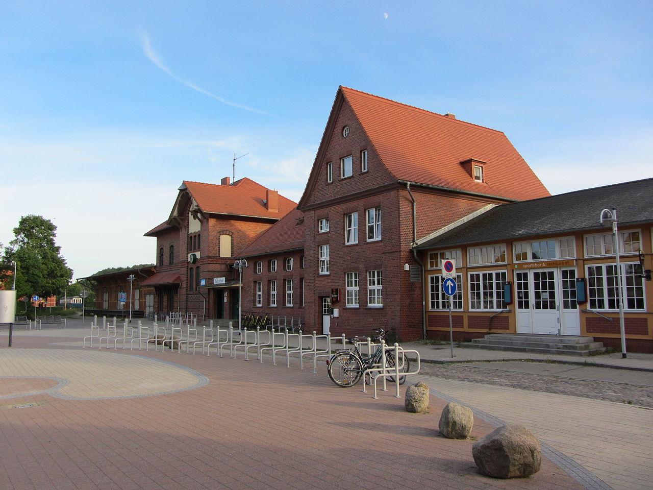 Bild Bahnhof Seebad Ahlbeck