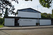 Bild Kirche St. Albertus Magnus Regensburg