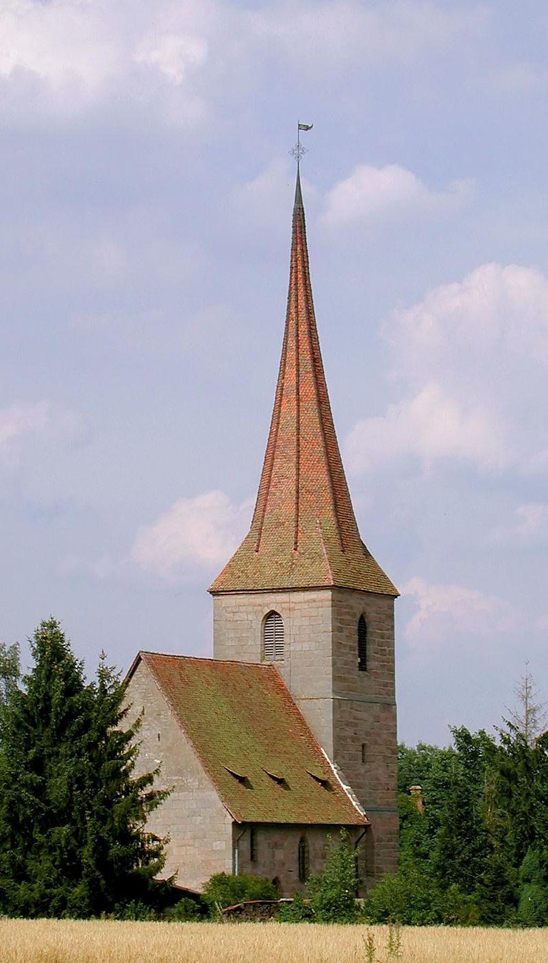 Bild Allerheiligenkirche Kleinschwarzenlohe