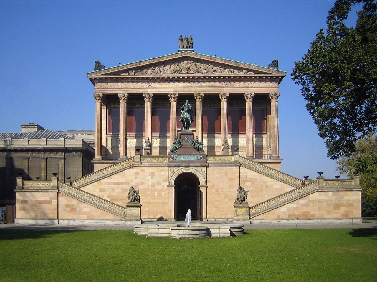 Bild Alte Nationalgalerie Berlin