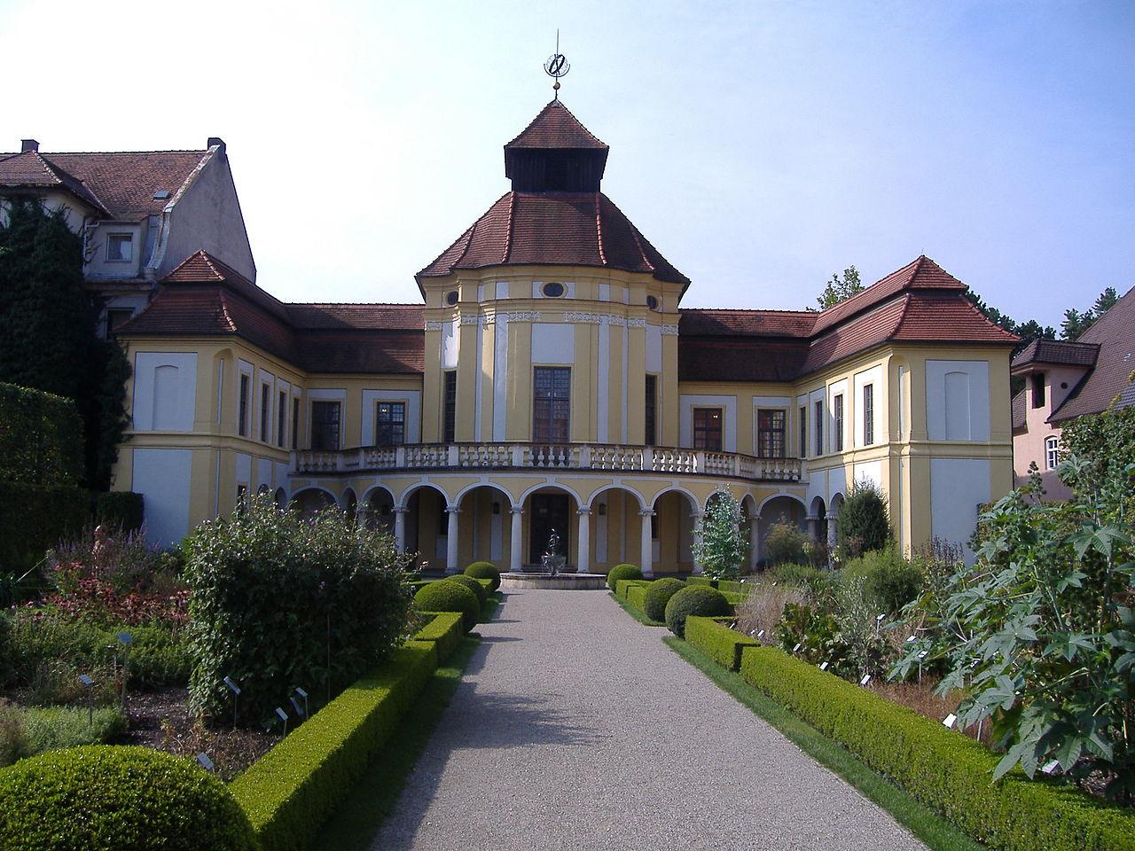 Bild Deutsches Medizinhistorisches Museum Ingolstadt mit Heilpflanzengarten