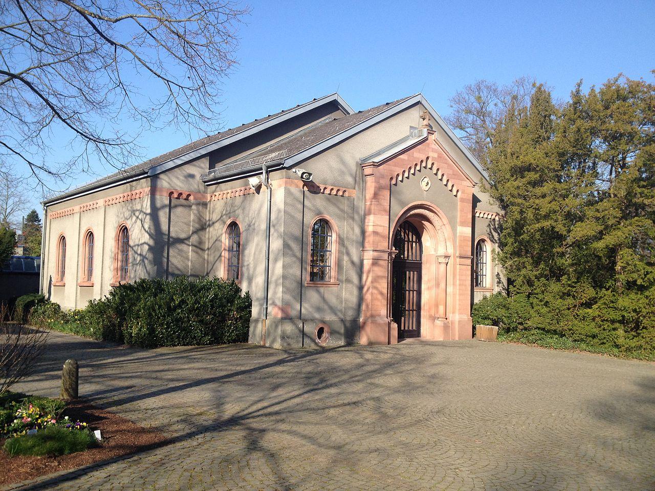Bild Alter Friedhof Darmstadt