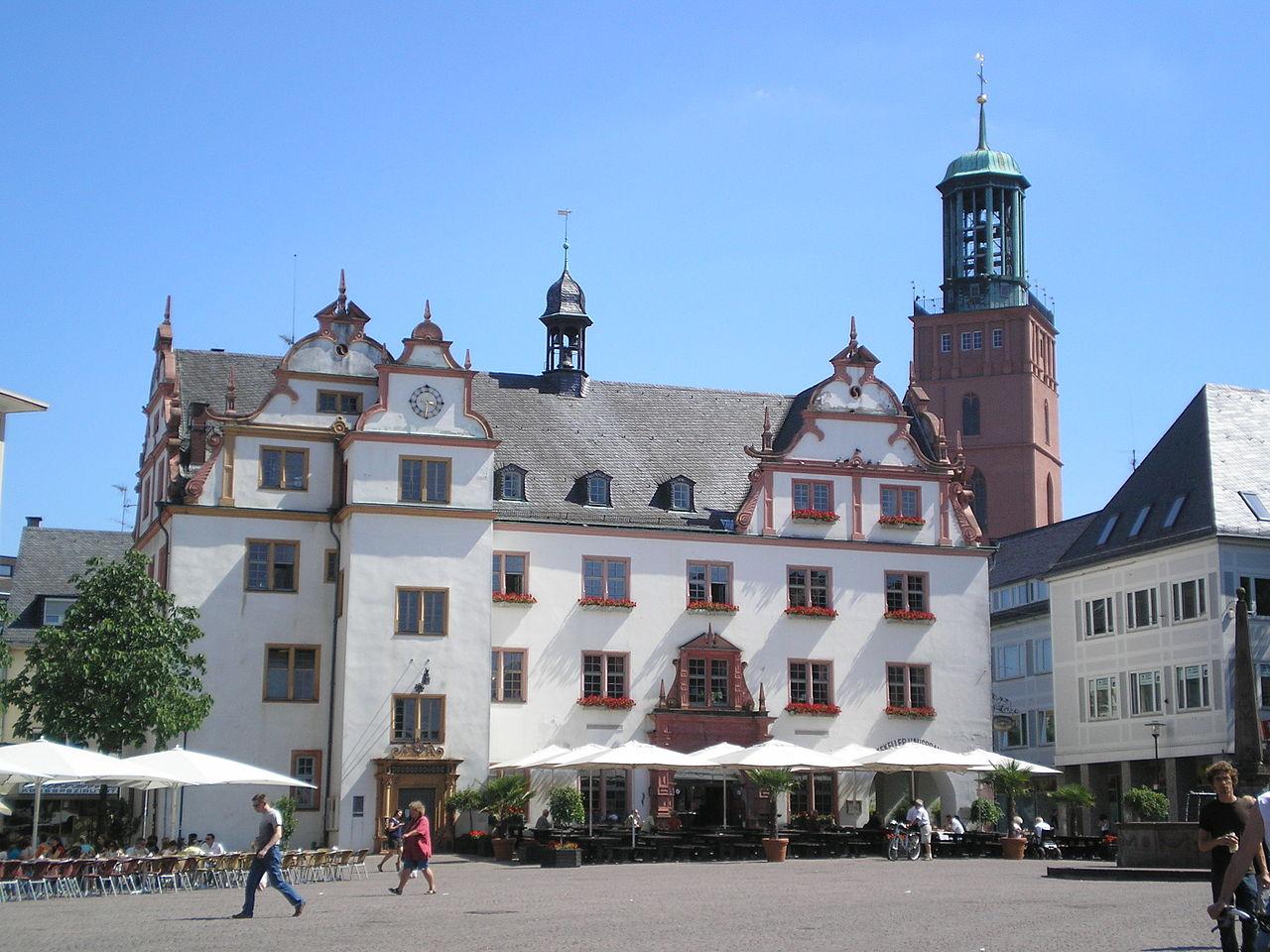 Bild Altes Rathaus Darmstadt