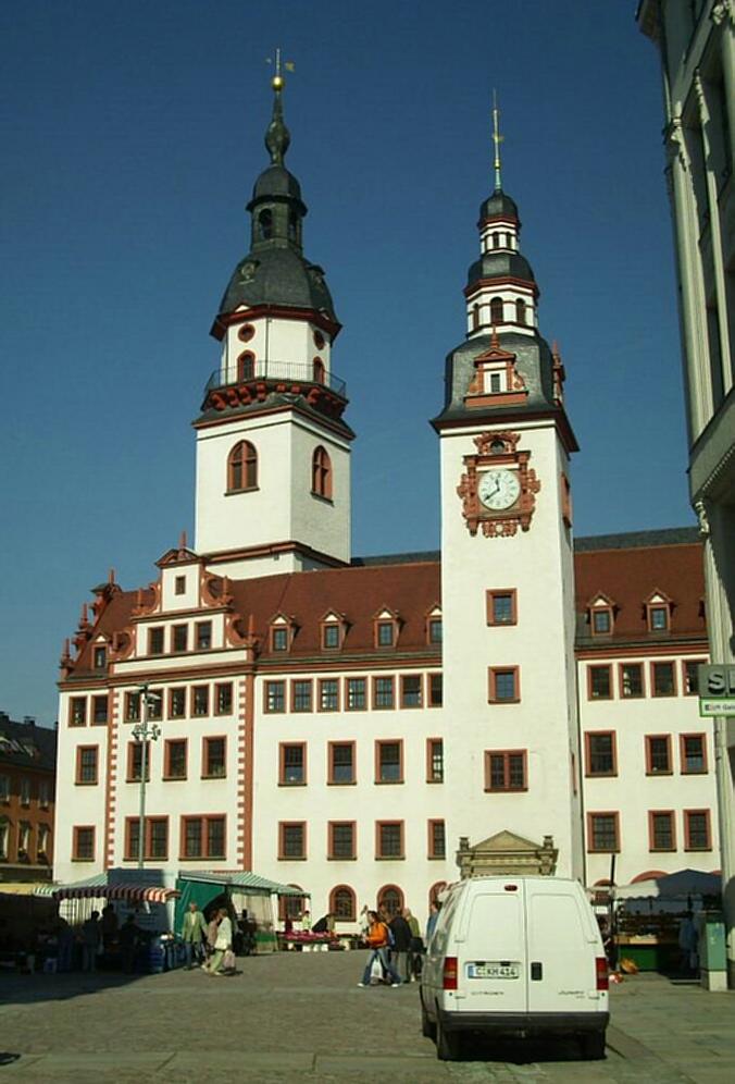 Bild Rathaus Chemnitz