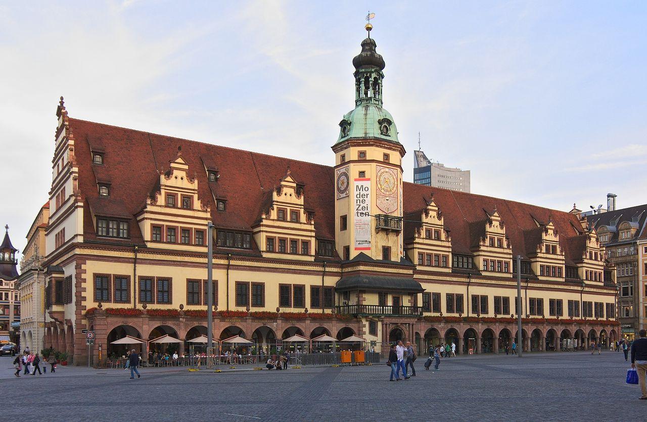 Bild Altes Rathaus Leipzig