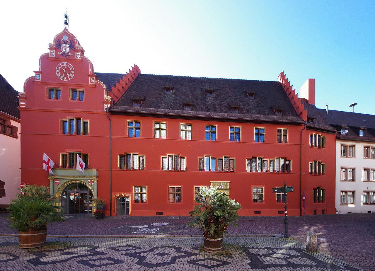 Bild Altes Rathaus Freiburg