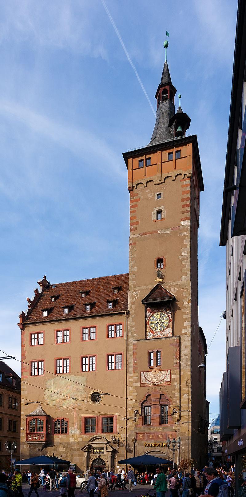 Bild Altes Rathaus Grafeneckart Würzburg