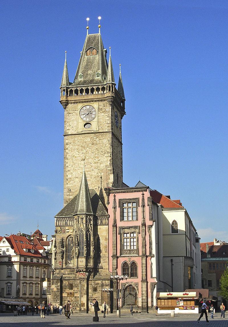 Bild Altstädter Rathaus Prag