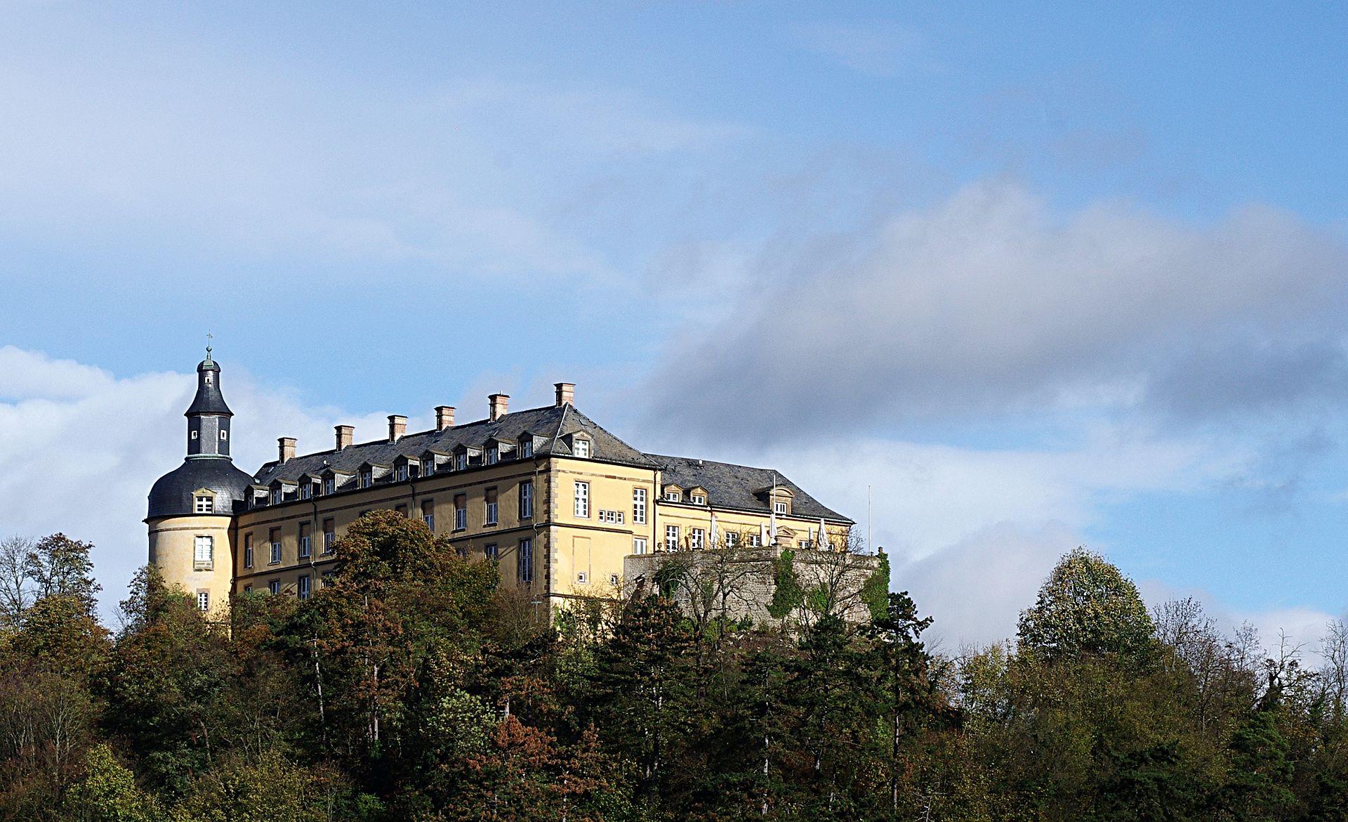 Bild Schloss Friedrichstein Bad Wildungen