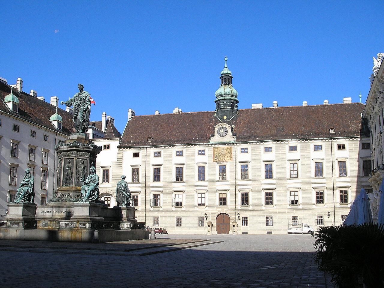 Bild Wiener Hofburg