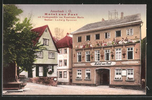 Bild Hotel Post Das Adorno Haus Amorbach