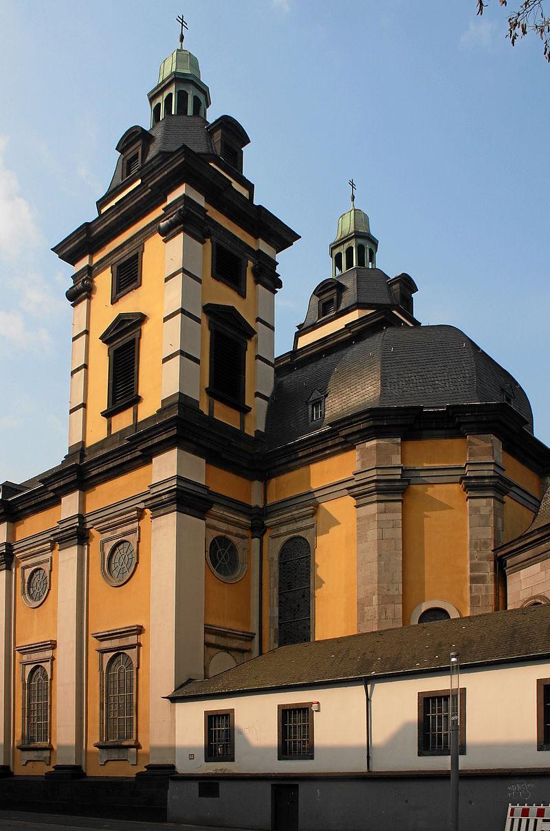 Bild Kirche St. Andreas Düsseldorf