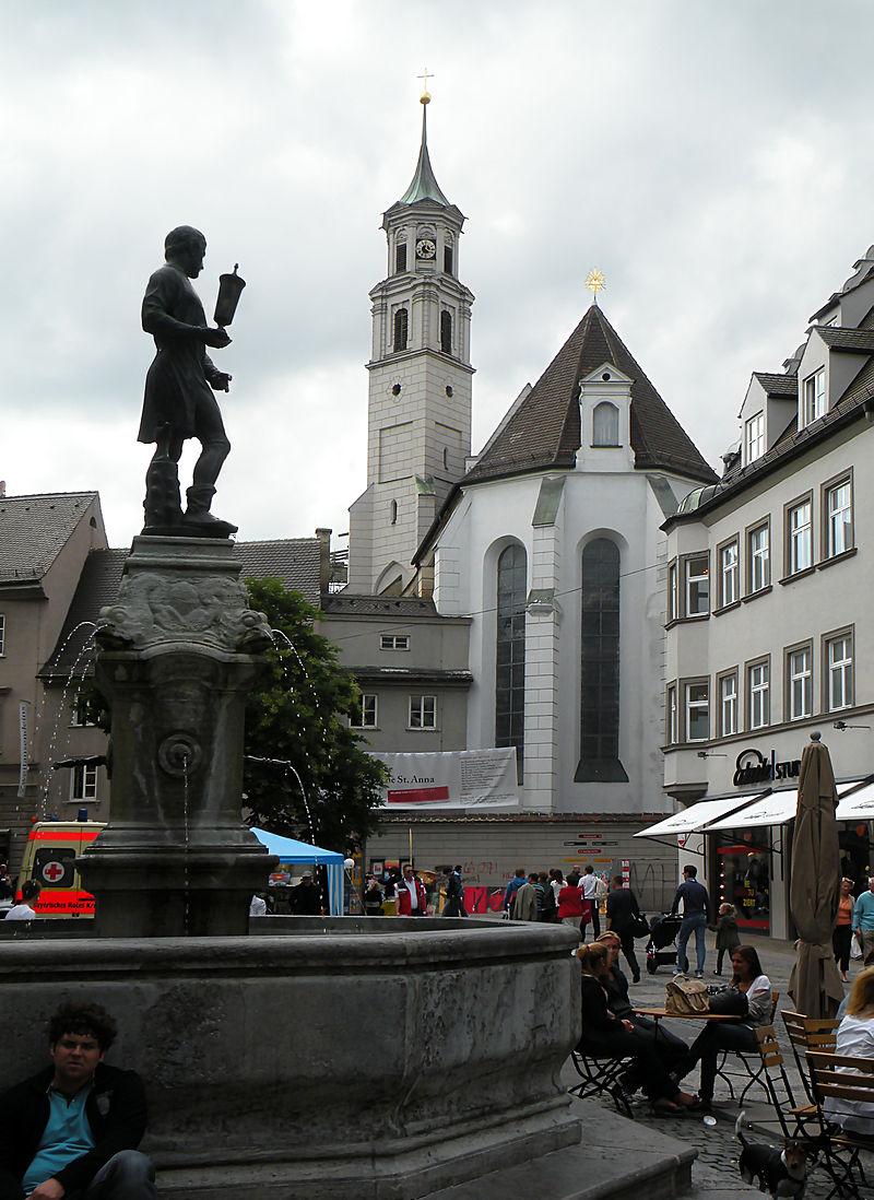 Bild Kirche St. Anna Augsburg