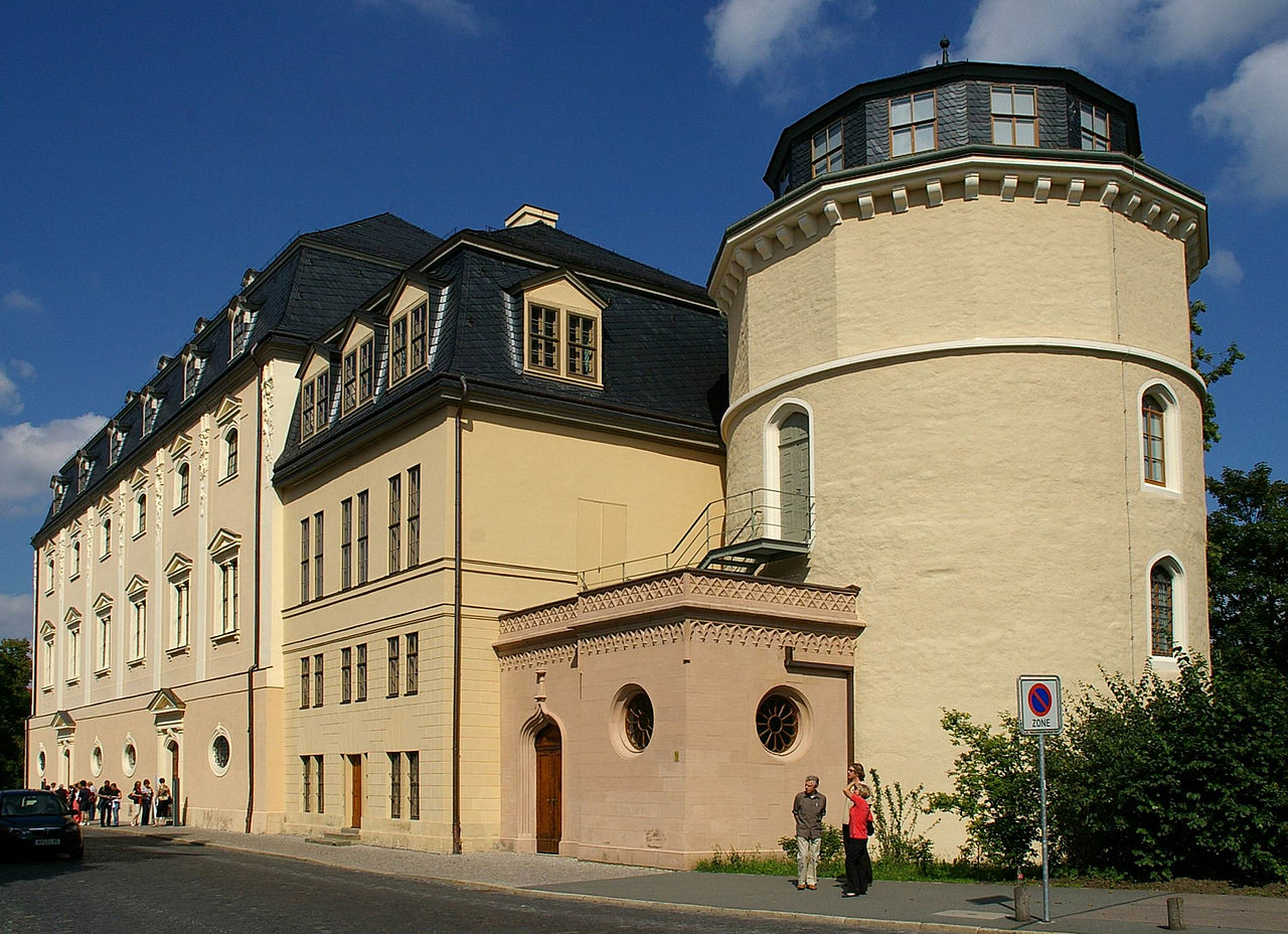Bild Anna Amalia Bibliothek Weimar