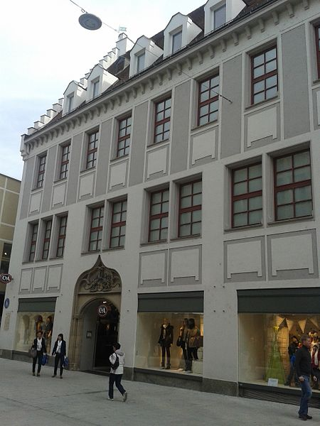 Bild Fuggerhaus am Rindermarkt Augsburg
