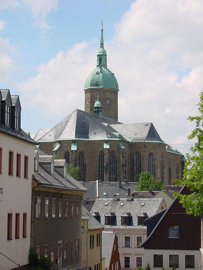 Bild St. Annen Kirche Annaberg