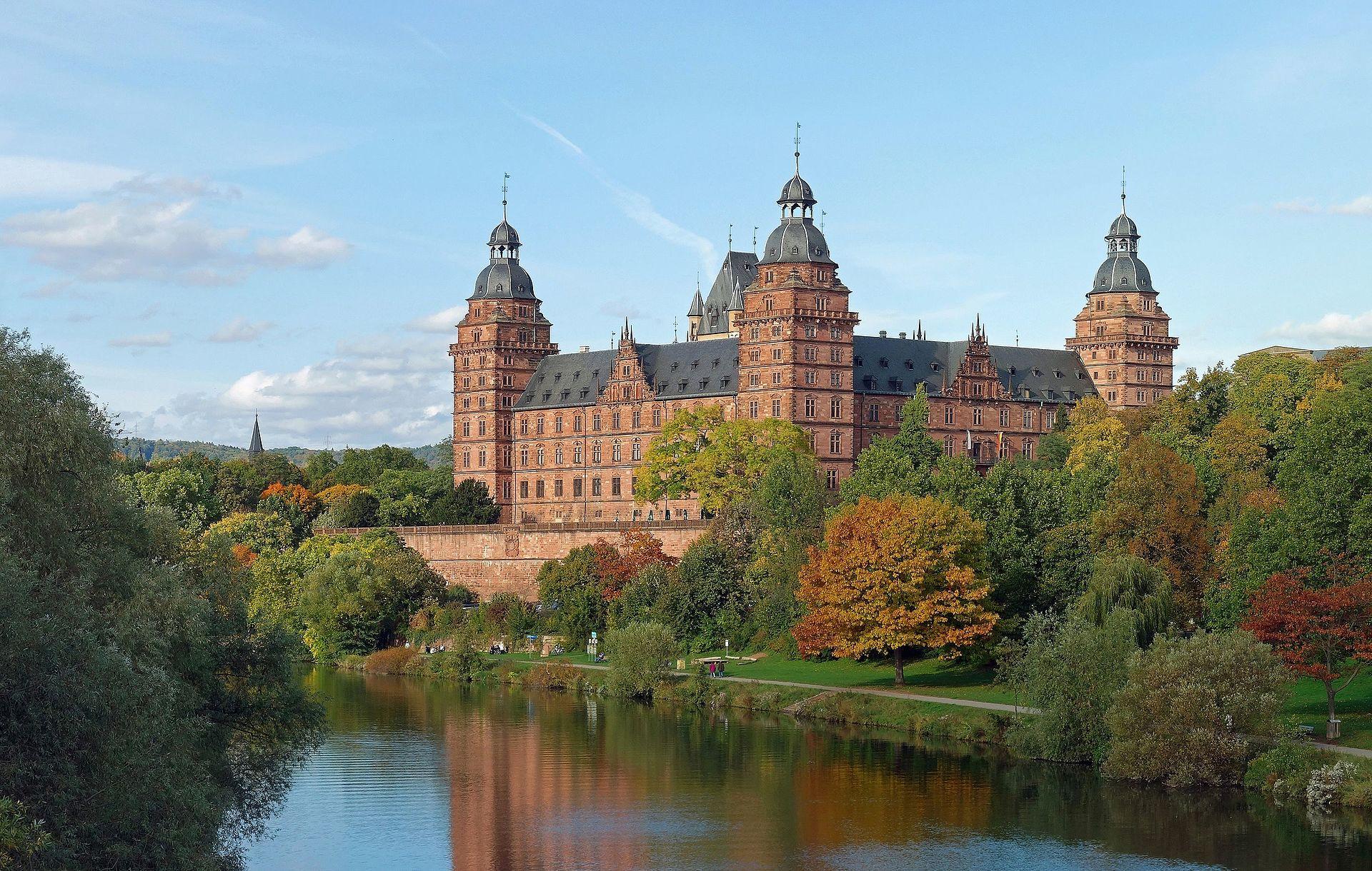 Bild Schloss Johannisburg Aschaffenburg