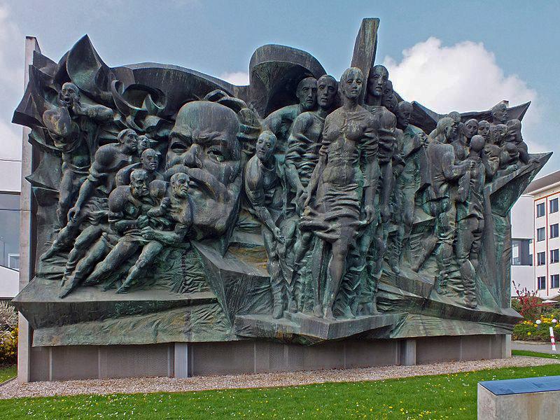 Bild Karl Marx Relief am Leipziger Augustusplatz