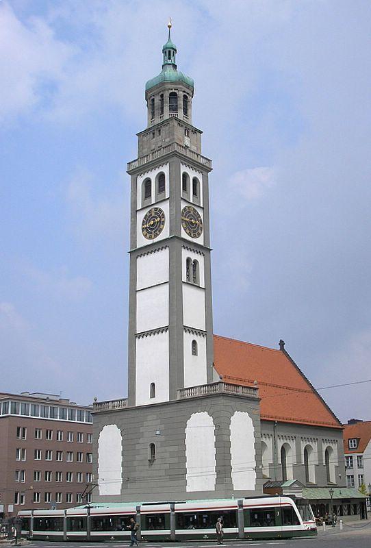 Bild Perlachturm Augsburg