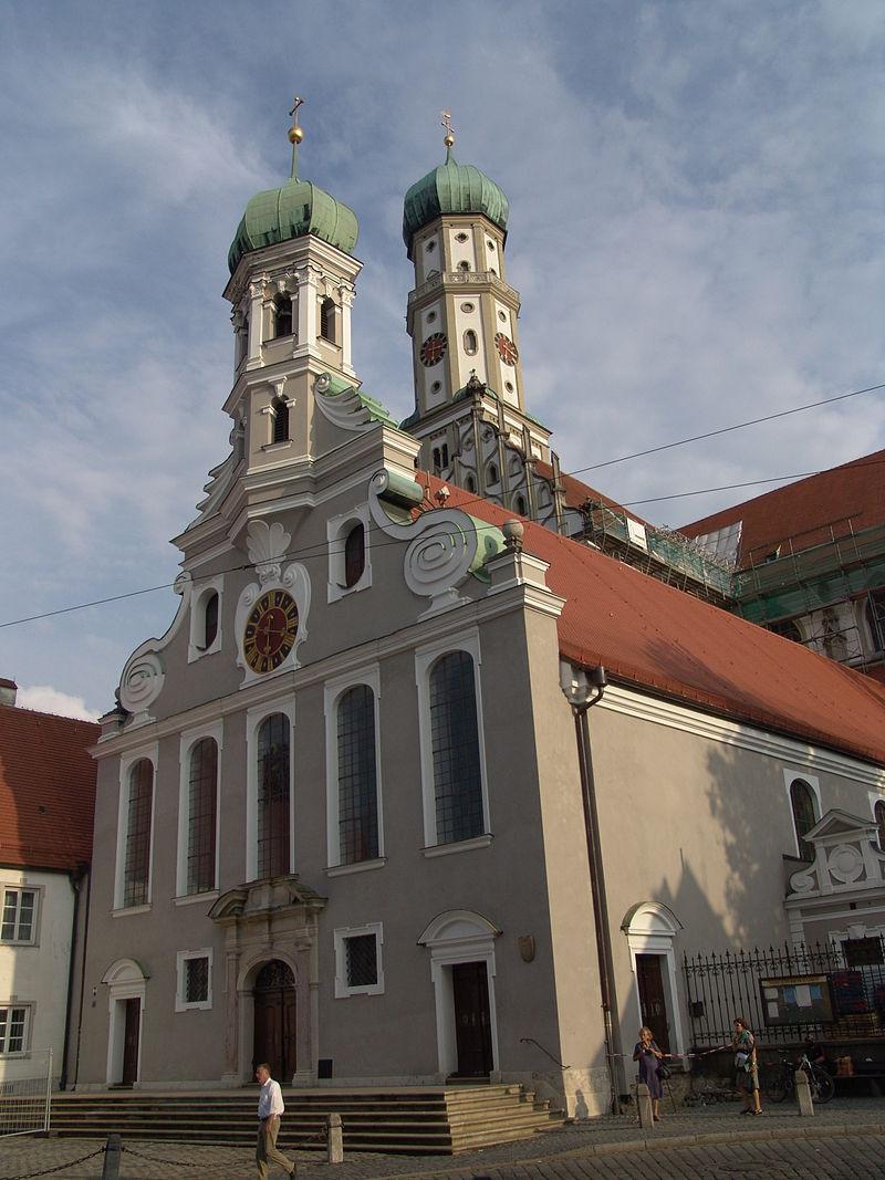 Bild Ulrichskirche Augsburg