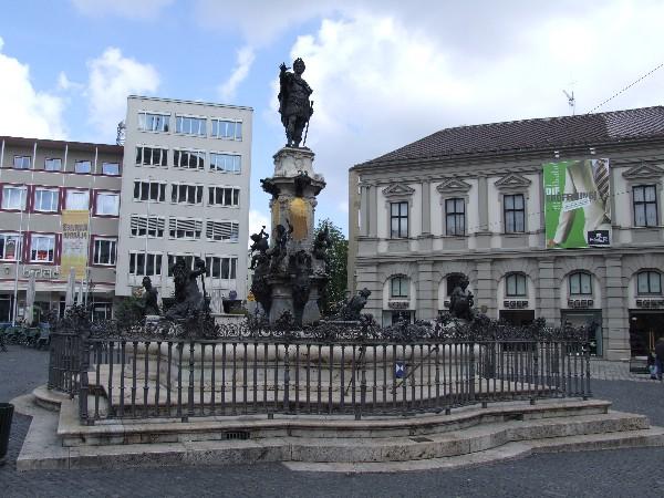 Bild Augustusbrunnen Augsburg