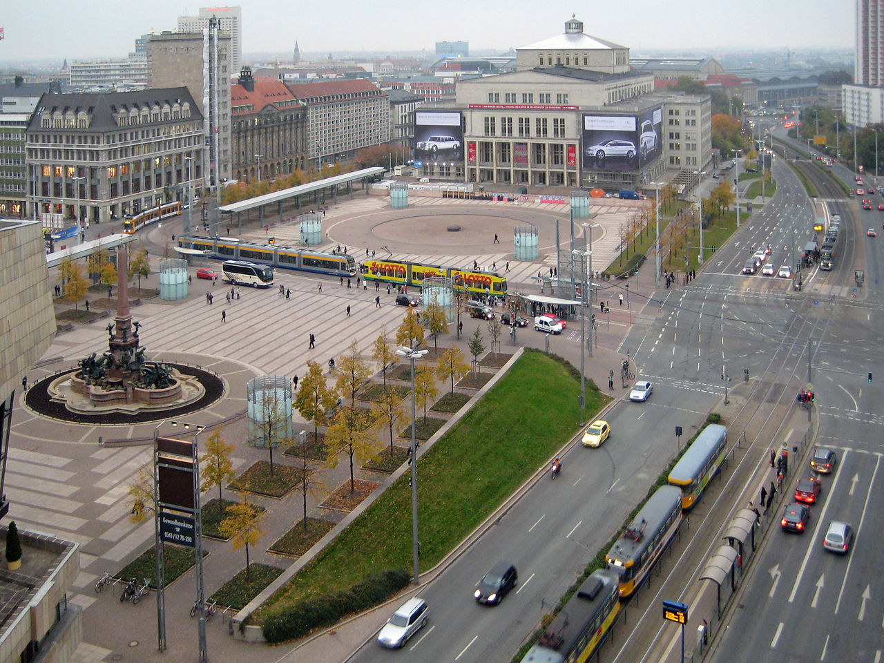 Bild Augustusplatz Leipzig