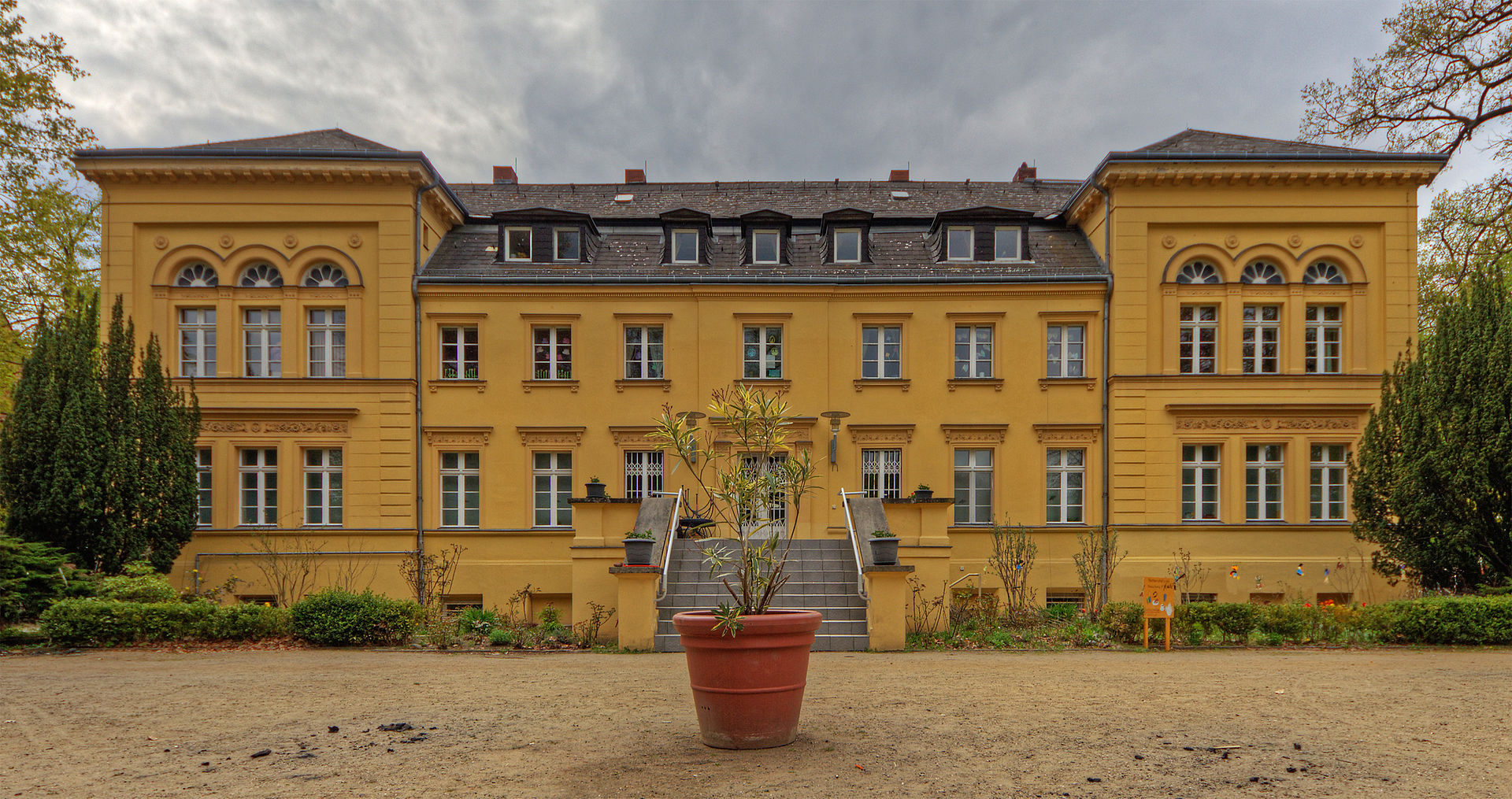 Bild Herrenhaus Berlin Lichterfelde