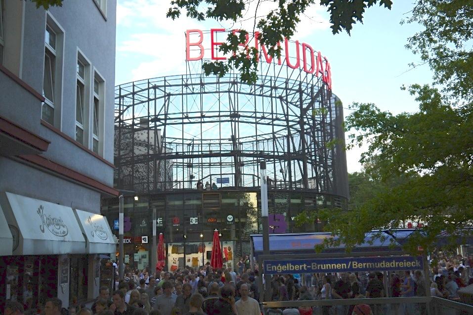 Bild Bermuda Dreieck Bochum