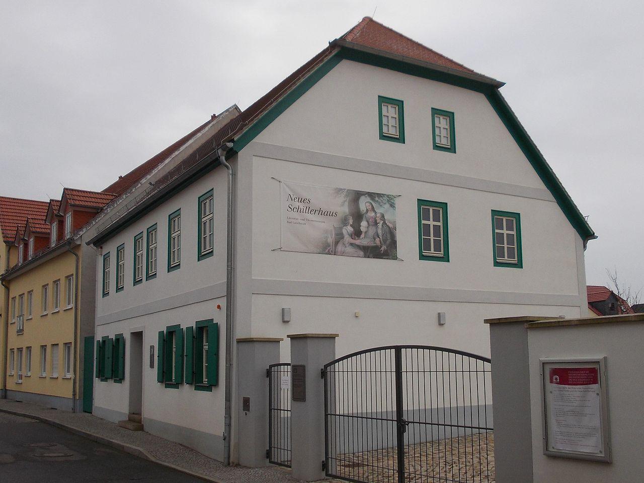 Bild Schillerhaus Bad Lauchstädt