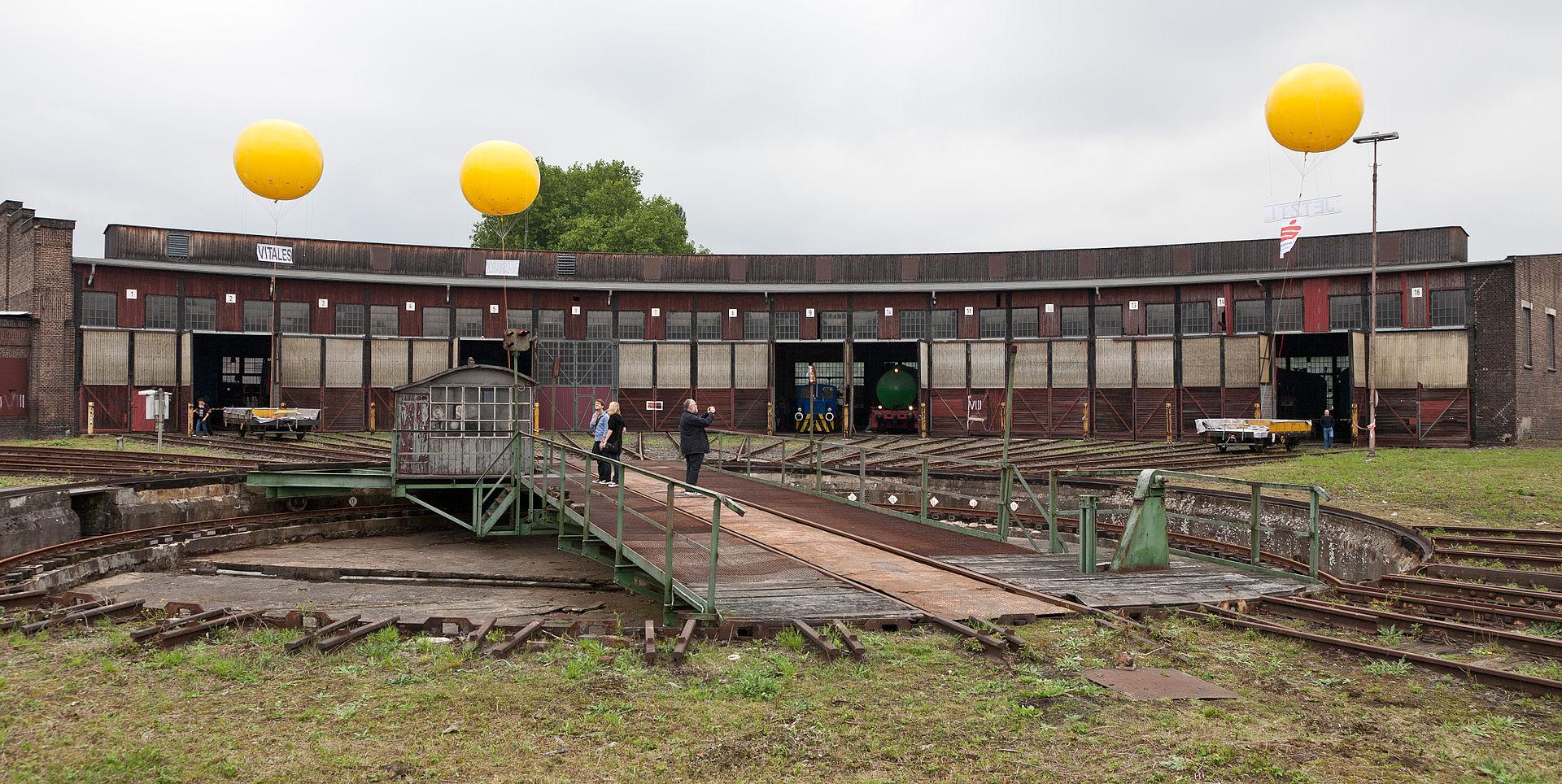 Bild Bahnbetriebswerk Gelsenkirchen Bismarck