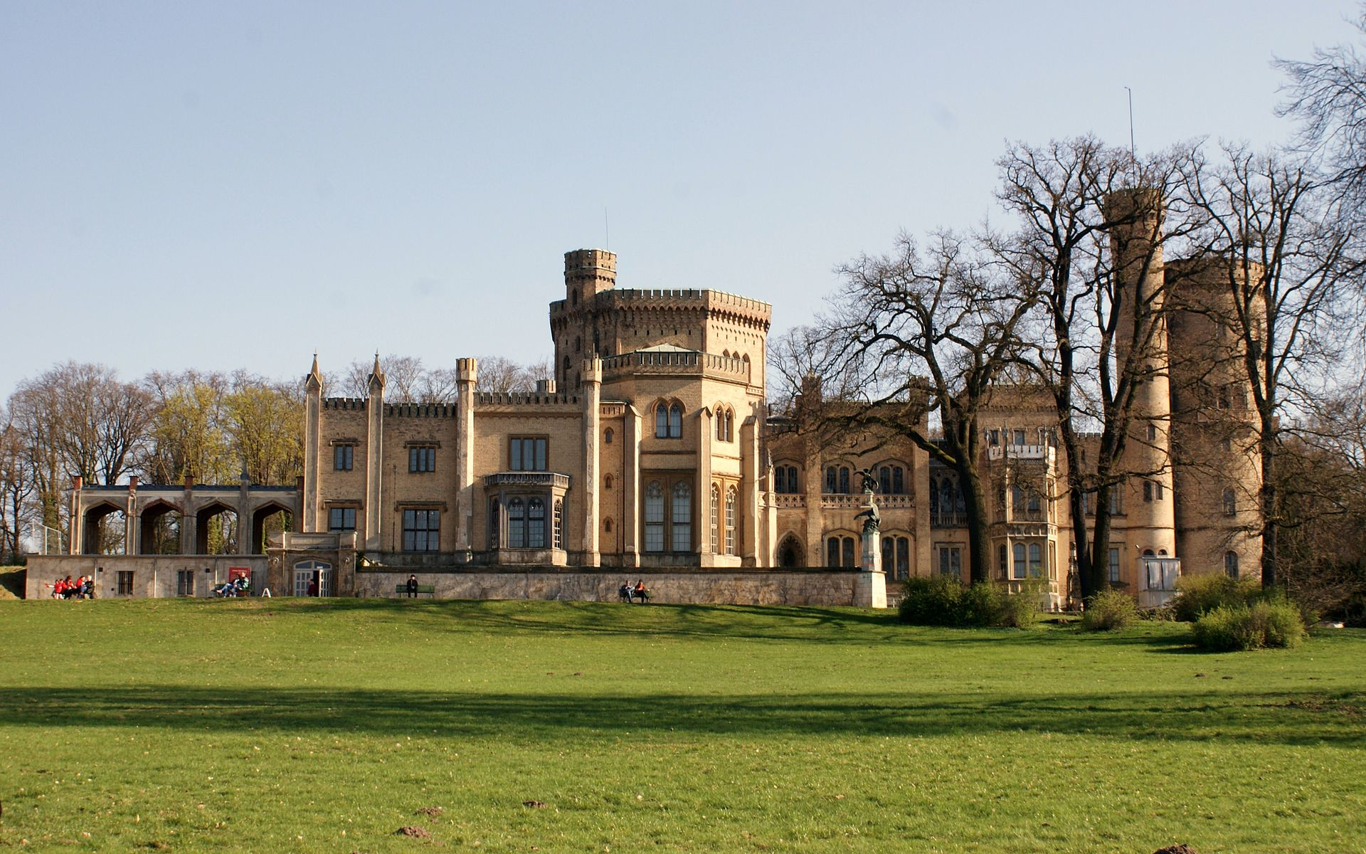 Bild Schloss Babelsberg