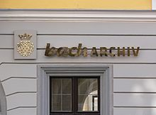 Bild Bach Archiv Leipzig