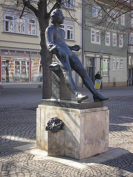Bild Bachdenkmal Arnstadt