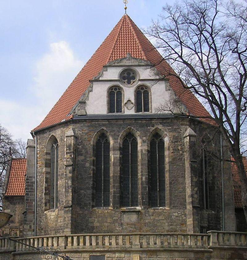Bild Johann Sebastian Bach Kirche Arnstadt