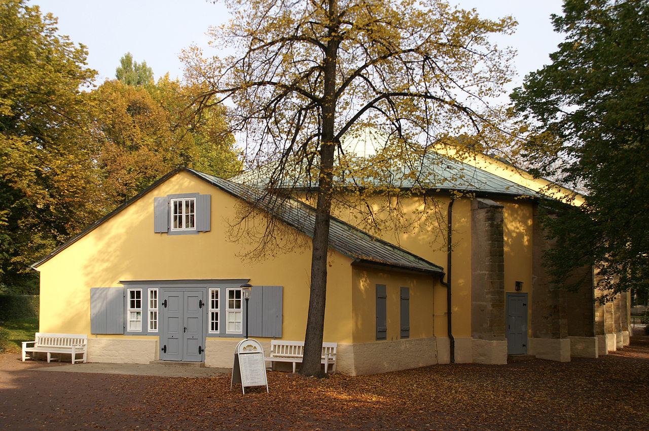 Bild Goethe Theater Bad Lauchstädt