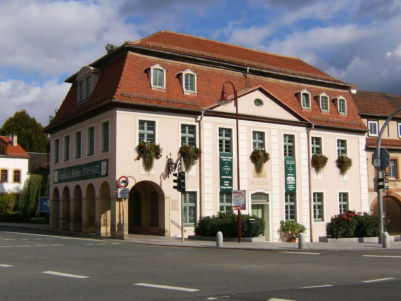 Bild Heinrich Schütz Haus Bad Köstritz