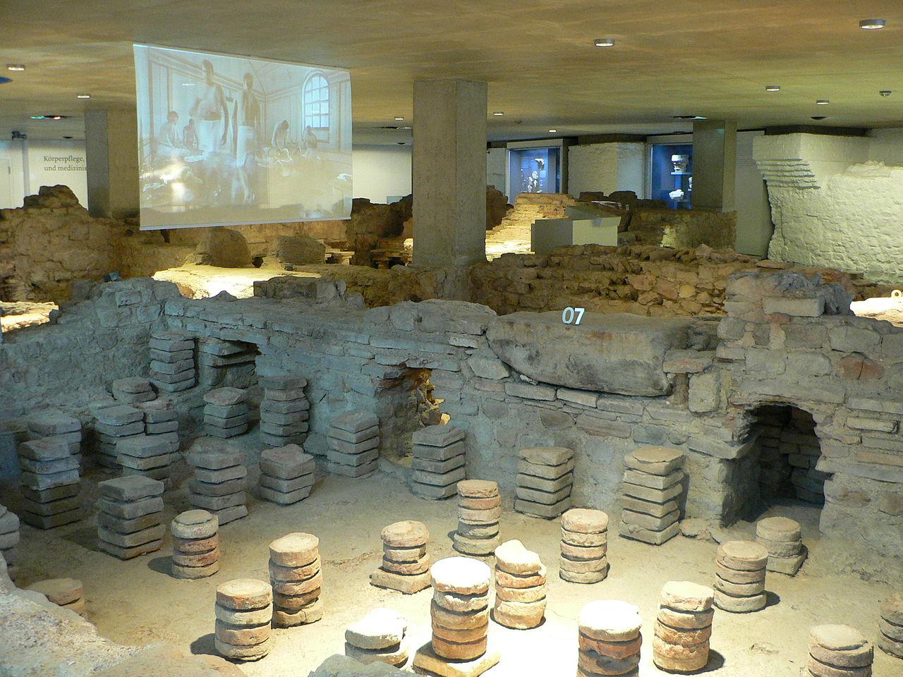Bild Römerthermen Museum der Badekultur Zülpich