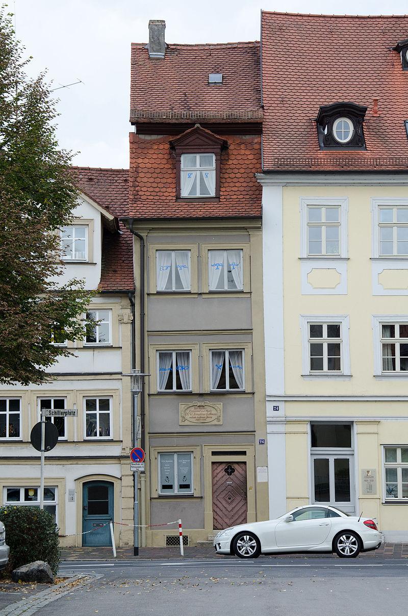 Bild E.T.A. Hoffmann Haus Bamberg
