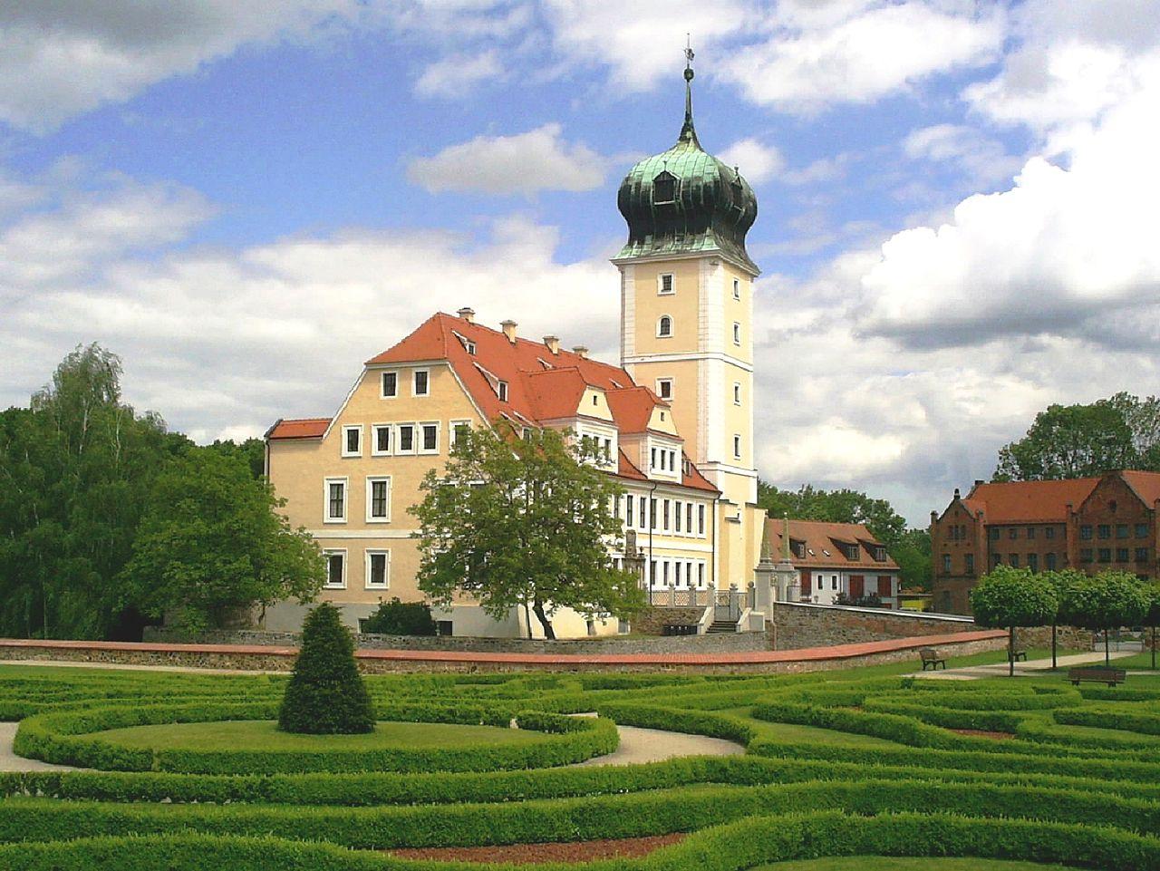 Bild Barockschloss Delitzsch