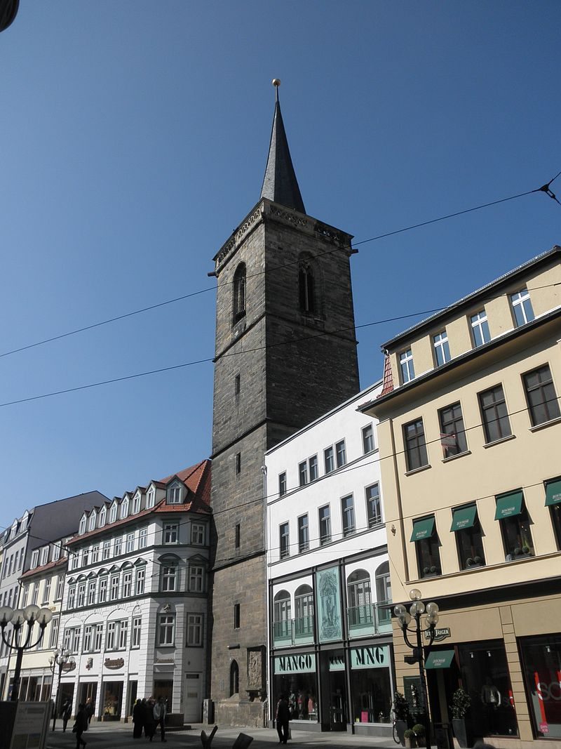 Bild Bartholomäusturm Erfurt